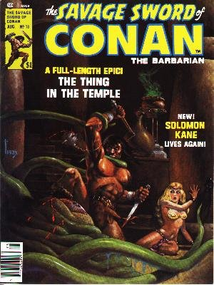 The Savage Sword of Conan # 13 Magazines (1974 - 1995)