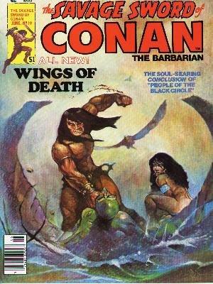The Savage Sword of Conan # 19 Magazines (1974 - 1995)