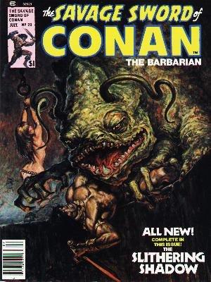 The Savage Sword of Conan # 20 Magazines (1974 - 1995)