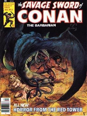 The Savage Sword of Conan # 21 Magazines (1974 - 1995)