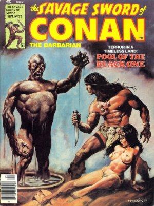 The Savage Sword of Conan # 22 Magazines (1974 - 1995)