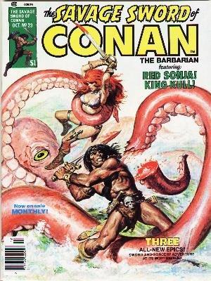The Savage Sword of Conan # 23 Magazines (1974 - 1995)