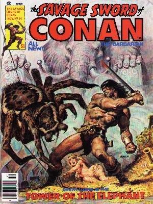 The Savage Sword of Conan # 24 Magazines (1974 - 1995)