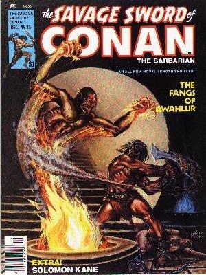 The Savage Sword of Conan # 25 Magazines (1974 - 1995)