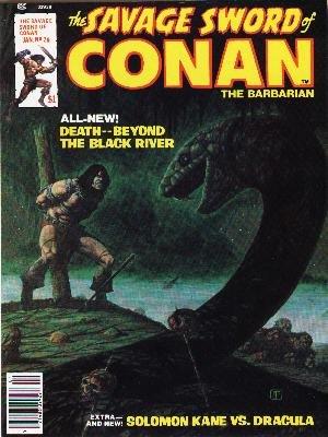 The Savage Sword of Conan # 26 Magazines (1974 - 1995)