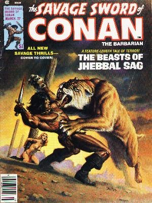 The Savage Sword of Conan # 27 Magazines (1974 - 1995)
