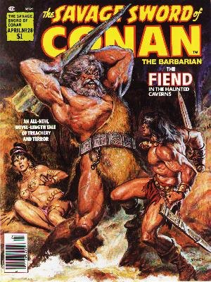The Savage Sword of Conan # 28 Magazines (1974 - 1995)