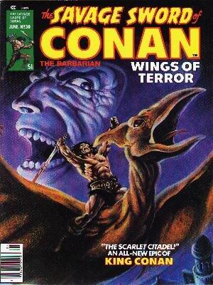 The Savage Sword of Conan # 30 Magazines (1974 - 1995)