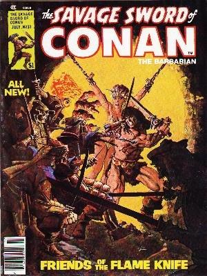 The Savage Sword of Conan # 31 Magazines (1974 - 1995)