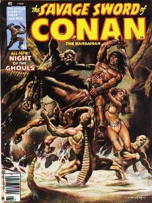 The Savage Sword of Conan # 32 Magazines (1974 - 1995)