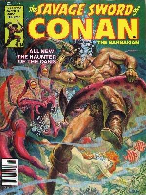 The Savage Sword of Conan # 37 Magazines (1974 - 1995)