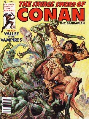 The Savage Sword of Conan # 38 Magazines (1974 - 1995)