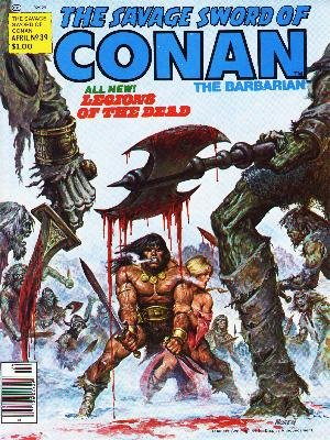 The Savage Sword of Conan # 39 Magazines (1974 - 1995)