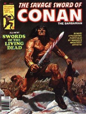 The Savage Sword of Conan # 44 Magazines (1974 - 1995)