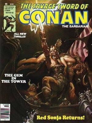 The Savage Sword of Conan # 45 Magazines (1974 - 1995)