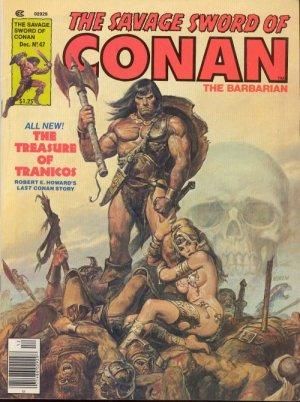 The Savage Sword of Conan # 47 Magazines (1974 - 1995)