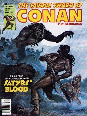 The Savage Sword of Conan # 51 Magazines (1974 - 1995)