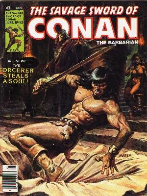 The Savage Sword of Conan # 53 Magazines (1974 - 1995)