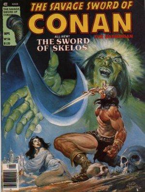 The Savage Sword of Conan # 56 Magazines (1974 - 1995)