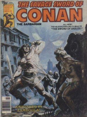 The Savage Sword of Conan # 58 Magazines (1974 - 1995)