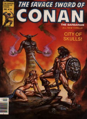 The Savage Sword of Conan # 59 Magazines (1974 - 1995)