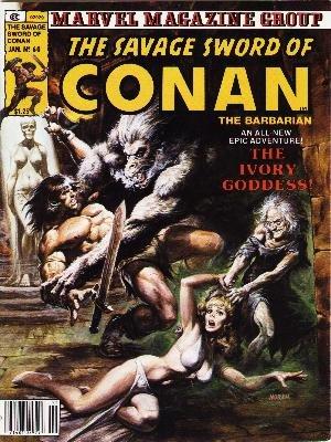 The Savage Sword of Conan # 60 Magazines (1974 - 1995)