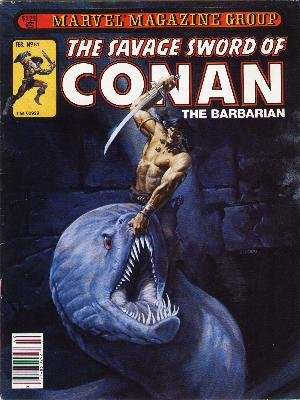 The Savage Sword of Conan # 61 Magazines (1974 - 1995)