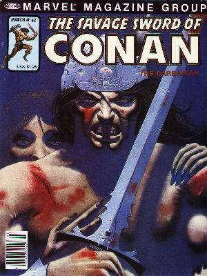 The Savage Sword of Conan # 62 Magazines (1974 - 1995)
