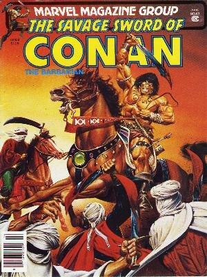 The Savage Sword of Conan # 63 Magazines (1974 - 1995)