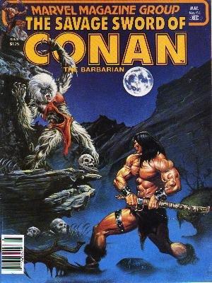 The Savage Sword of Conan # 64 Magazines (1974 - 1995)