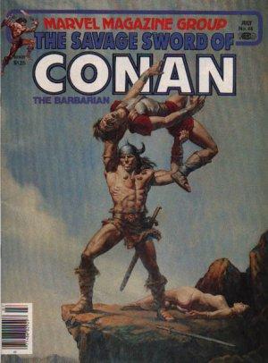 The Savage Sword of Conan # 66 Magazines (1974 - 1995)