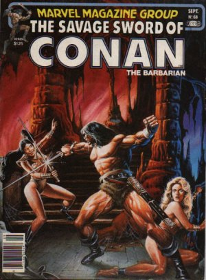 The Savage Sword of Conan # 68 Magazines (1974 - 1995)