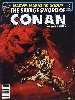The Savage Sword of Conan # 69 Magazines (1974 - 1995)