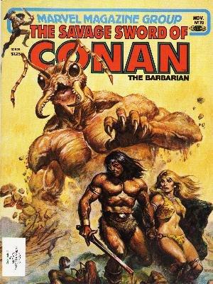 The Savage Sword of Conan # 70 Magazines (1974 - 1995)