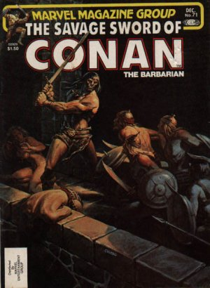 The Savage Sword of Conan # 71 Magazines (1974 - 1995)