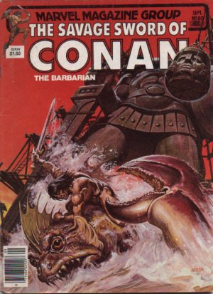 The Savage Sword of Conan # 80 Magazines (1974 - 1995)