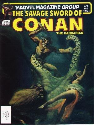 The Savage Sword of Conan # 81 Magazines (1974 - 1995)