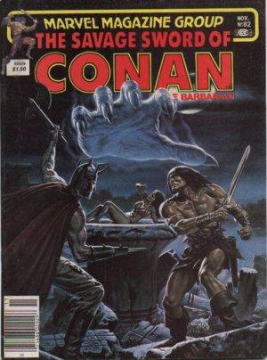 The Savage Sword of Conan # 82 Magazines (1974 - 1995)