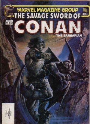 The Savage Sword of Conan # 83 Magazines (1974 - 1995)