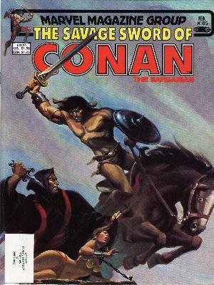 The Savage Sword of Conan # 85 Magazines (1974 - 1995)
