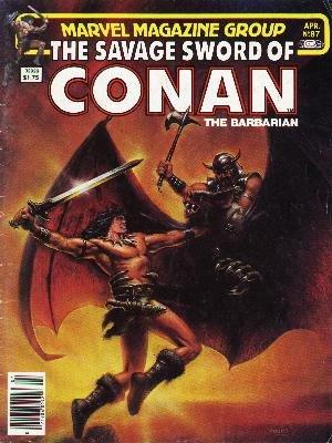 The Savage Sword of Conan # 87 Magazines (1974 - 1995)