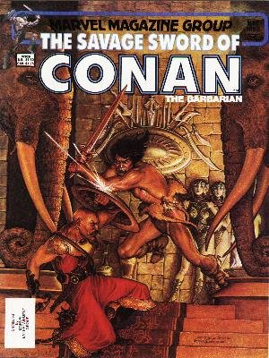 The Savage Sword of Conan # 88 Magazines (1974 - 1995)