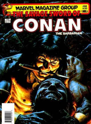 The Savage Sword of Conan # 89 Magazines (1974 - 1995)