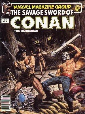 The Savage Sword of Conan # 92 Magazines (1974 - 1995)