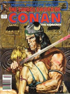 The Savage Sword of Conan # 97 Magazines (1974 - 1995)
