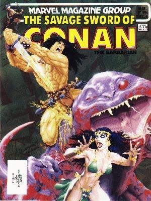 The Savage Sword of Conan # 98 Magazines (1974 - 1995)