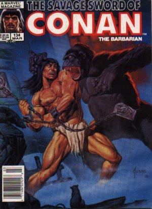 The Savage Sword of Conan # 134 Magazines (1974 - 1995)