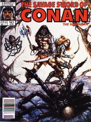 The Savage Sword of Conan # 161 Magazines (1974 - 1995)