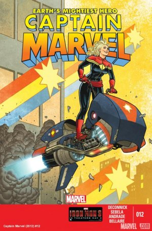 Captain Marvel # 12