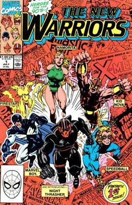 The New Warriors # 1 Issues V1 (1990 - 1996)